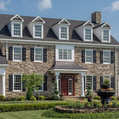 Home Exterior Manufactured Stone